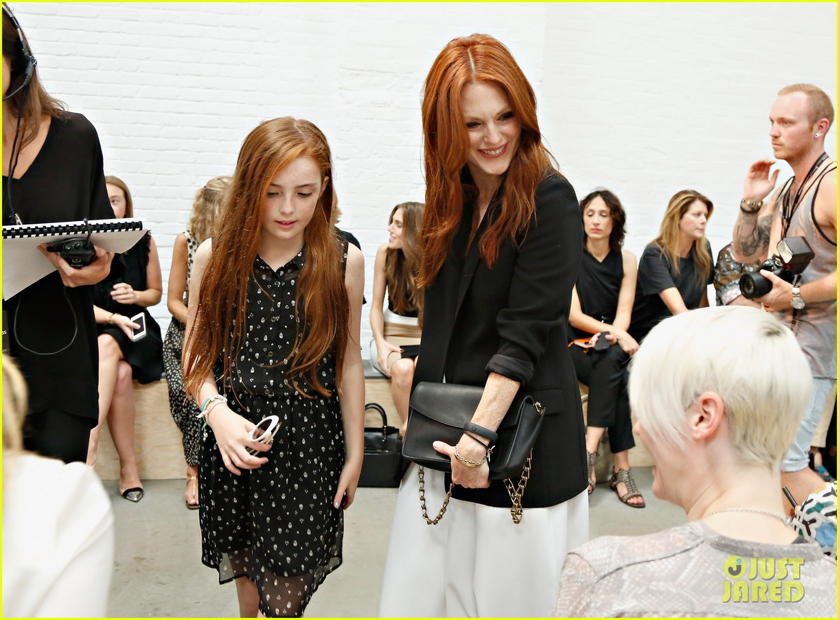 julianne moore allison williams reed krakoff fashion show 142950555