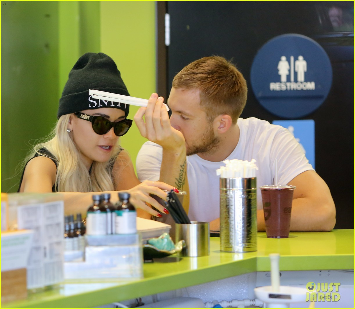 rita ora spa time after fun weekend with calvin harris 072958638