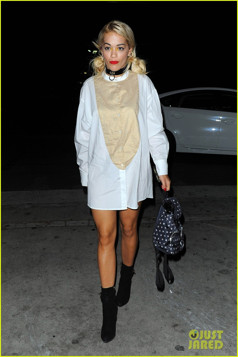 rita ora spa time after fun weekend with calvin harris 172958648