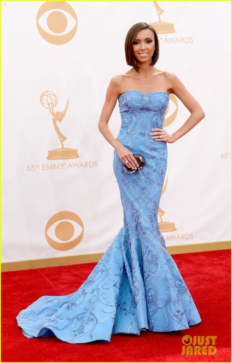 kelly osbourne giuliana rancic emmys 2013 red carpet 072957876