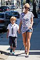 gwyneth paltrow chris martin spend sunday with moses 06