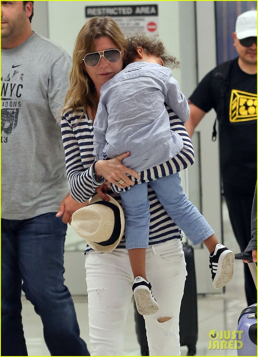 ellen pompeo back to reality after beach vacation 022944452