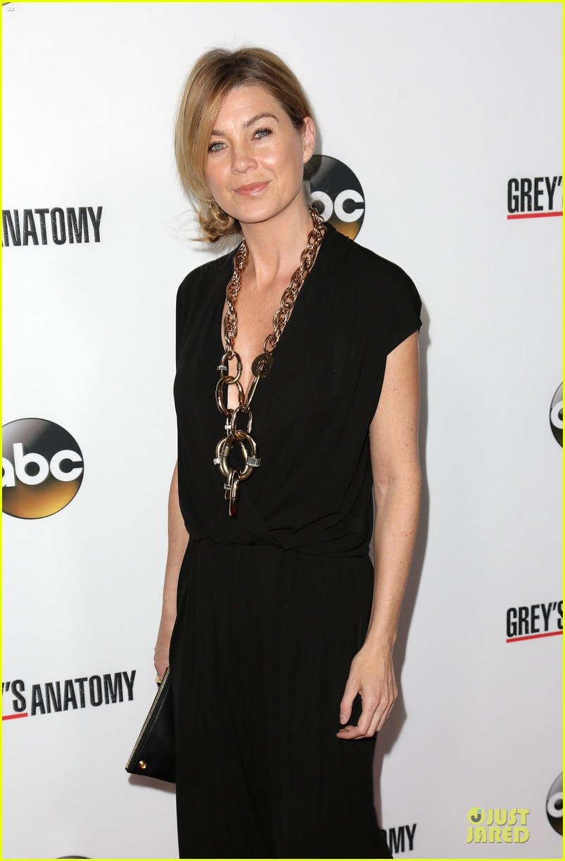 ellen pompeo kate walsh rock black at grey anatomy party 10