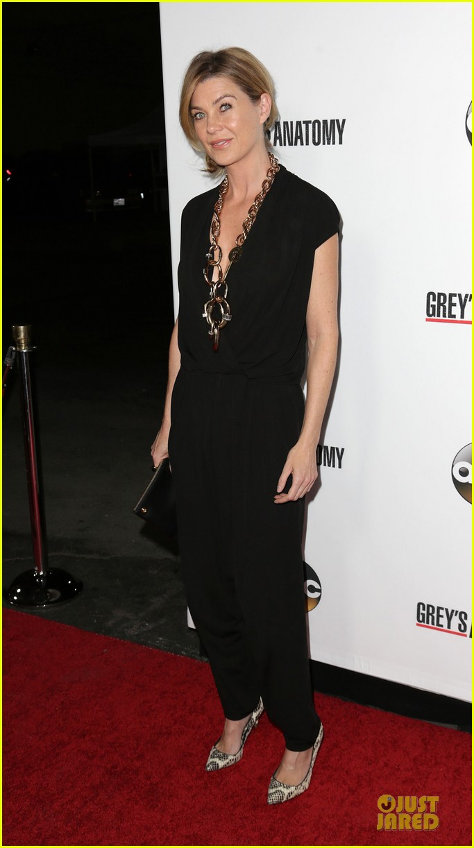 ellen pompeo kate walsh rock black at grey anatomy party 12