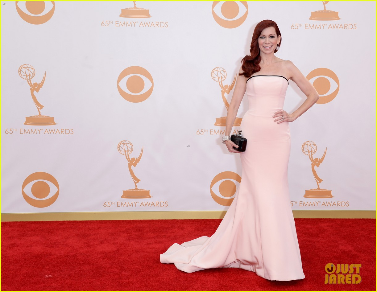 carrie preston linda cardellini emmys 2013 red carpet 072957909