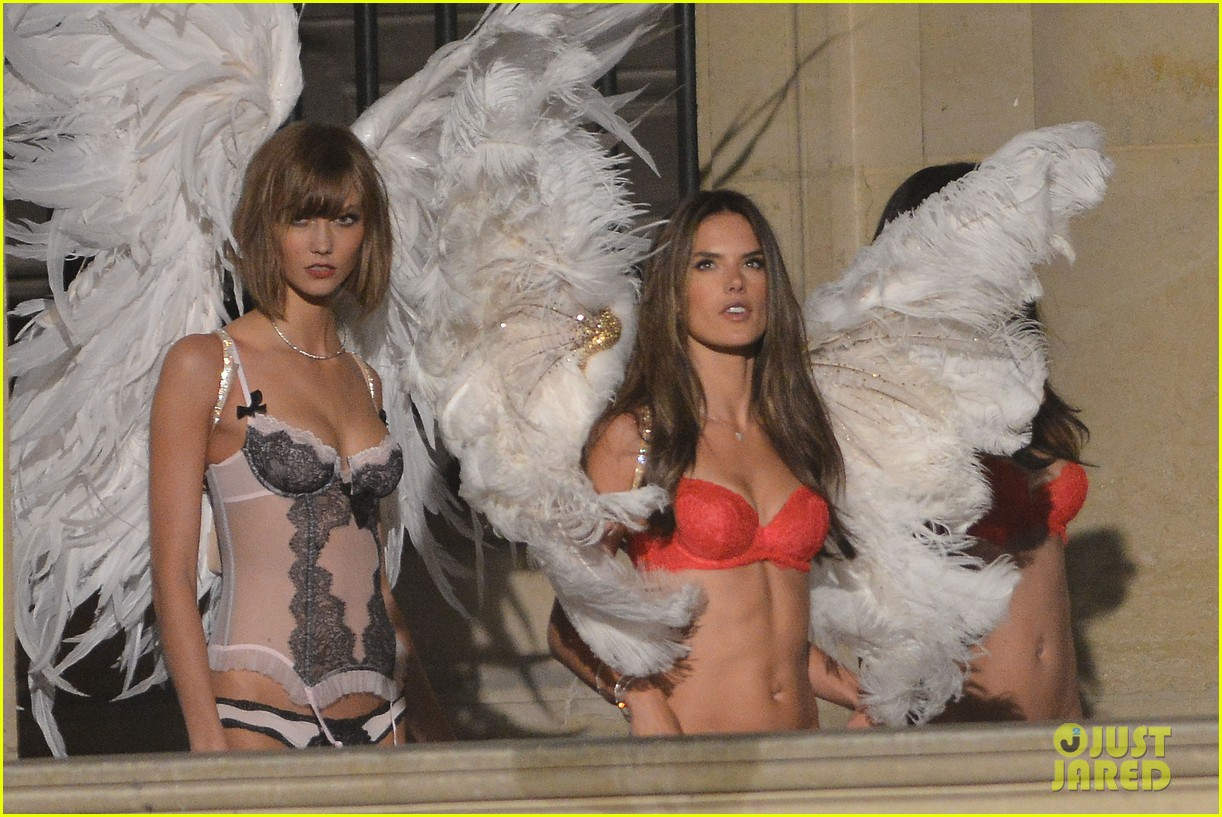 behati prinsloo lily aldridge vs angels louvre shoot 252954574