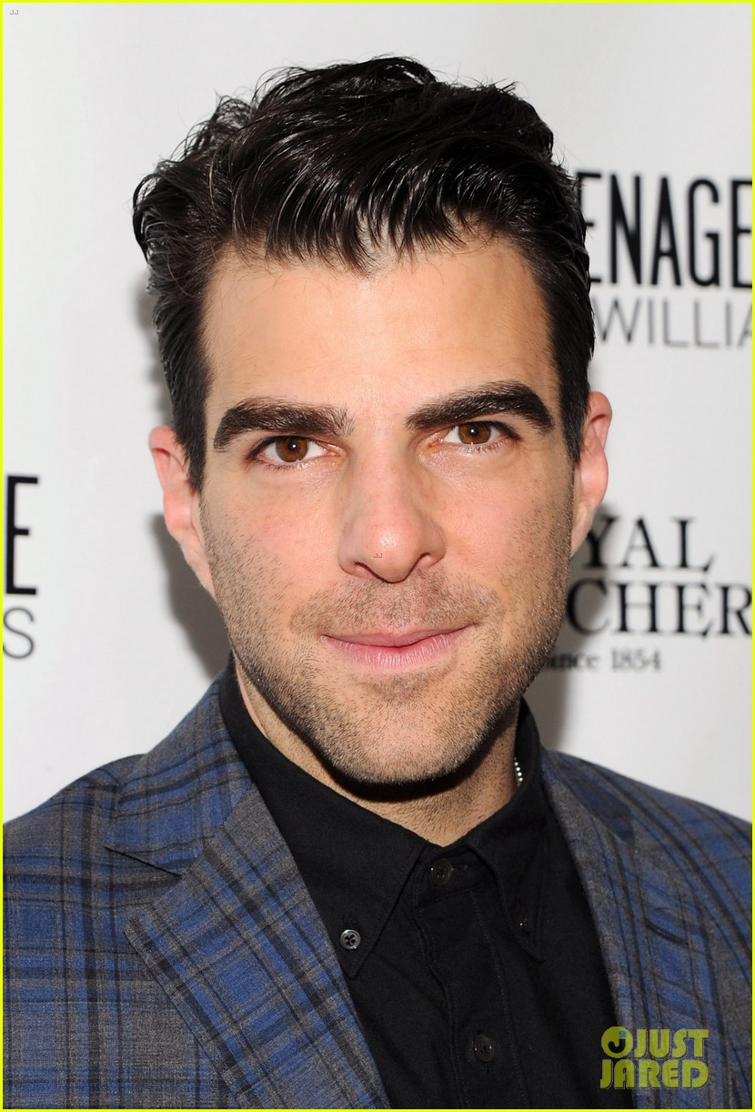 zachary quinto megan hilty glass menagerie opening night 02
