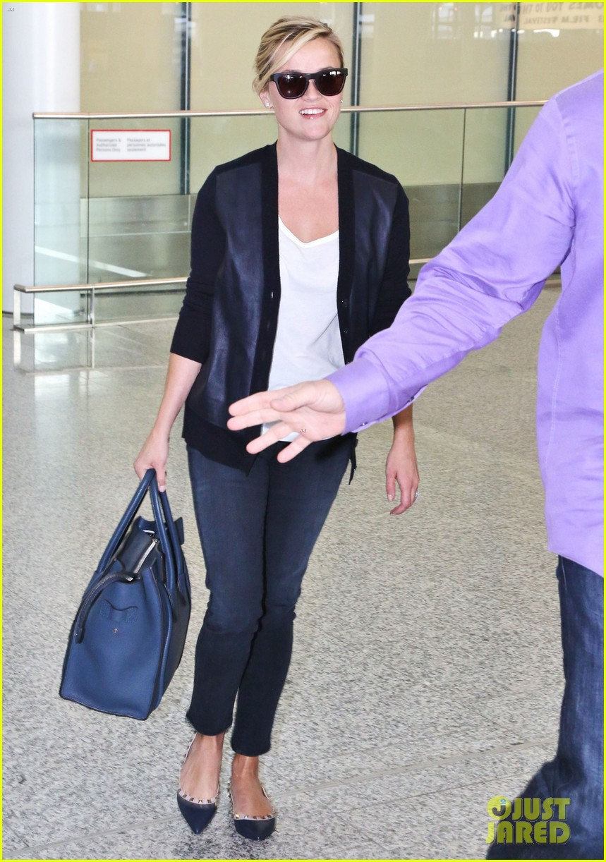 reese witherspoon arrives in toronto for tiff 122947240