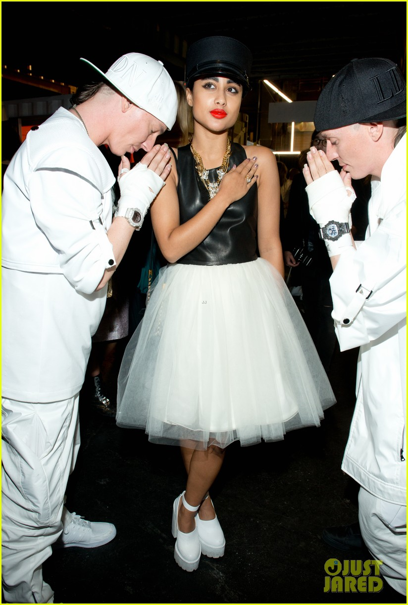 rihanna justin bieber opening ceremony nyfw after party 14