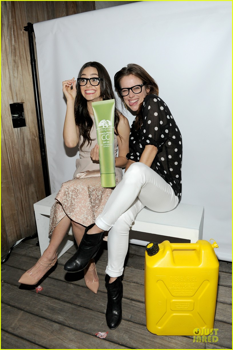 emmy rossum origins smartyplants event host 03