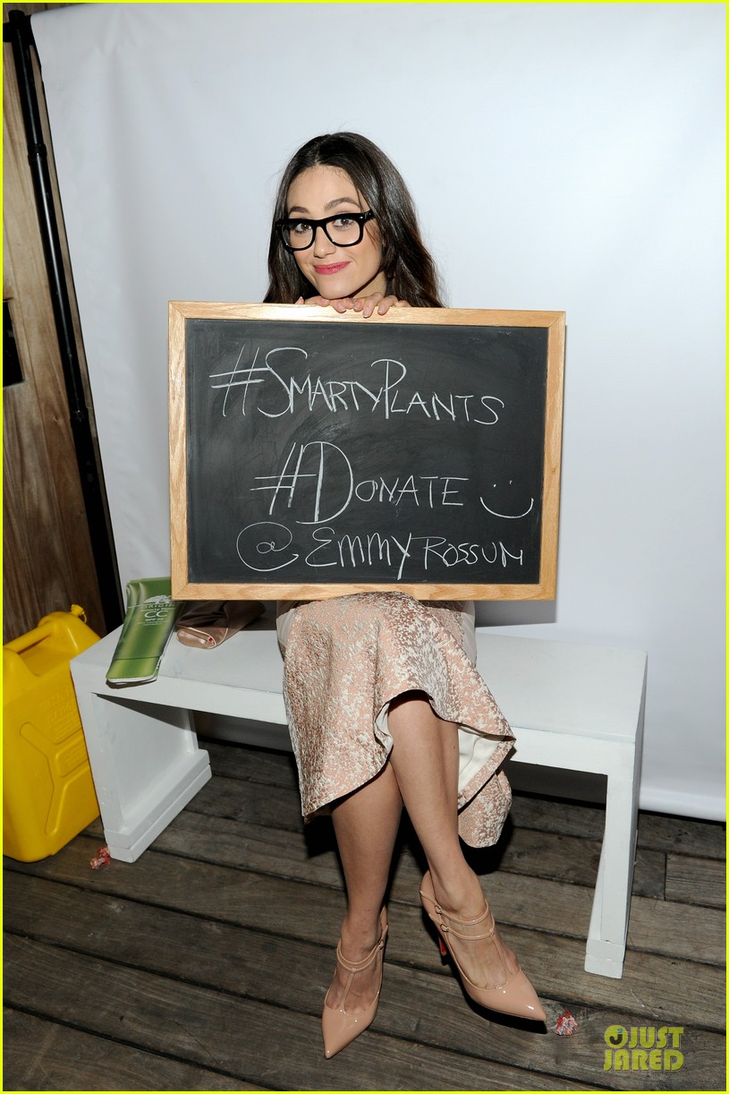 emmy rossum origins smartyplants event host 08