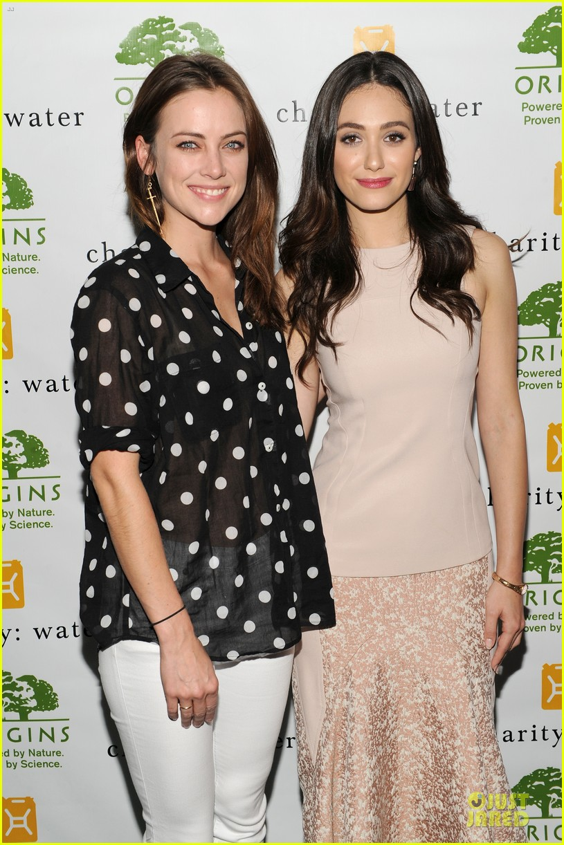 emmy rossum origins smartyplants event host 14