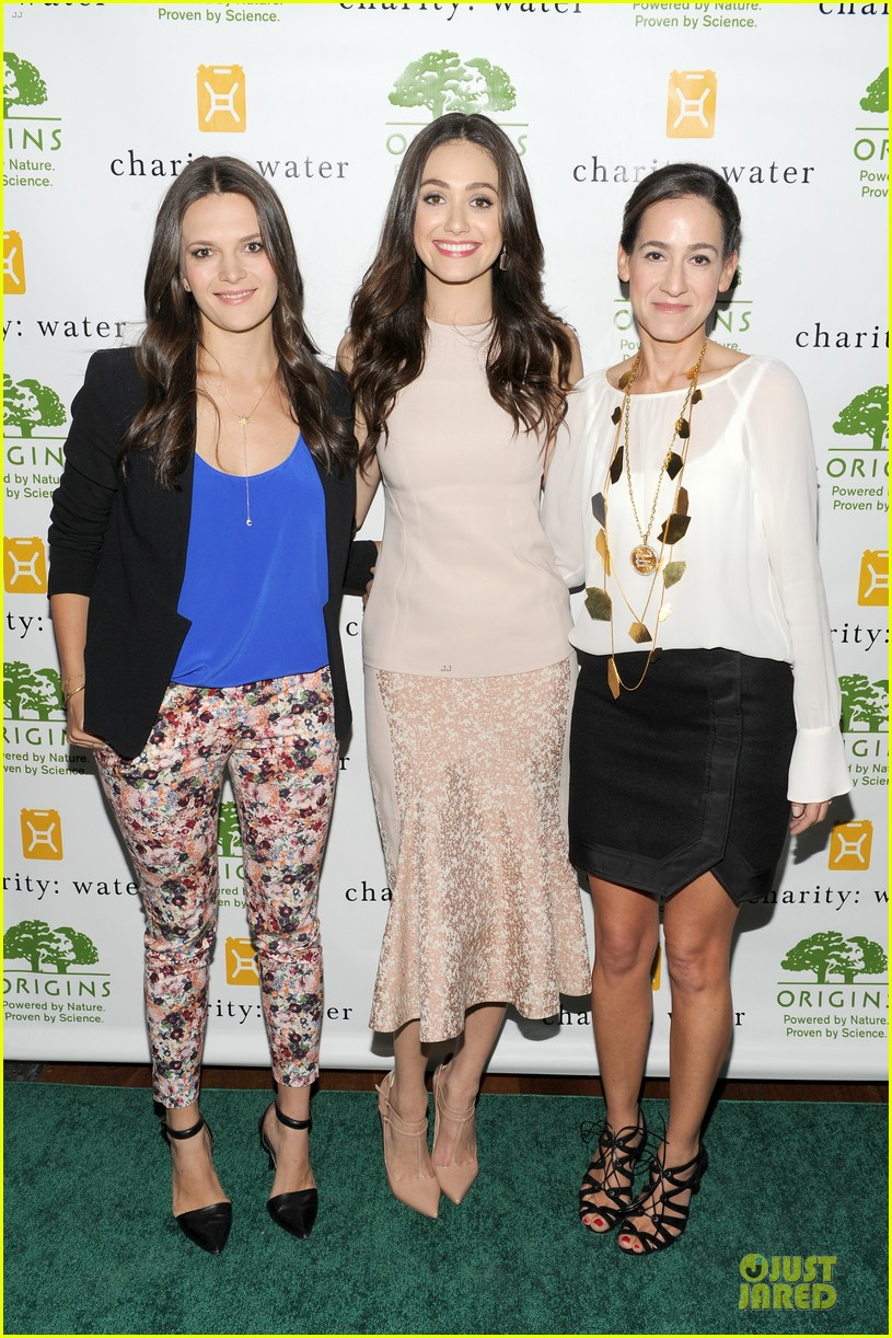 emmy rossum origins smartyplants event host 20
