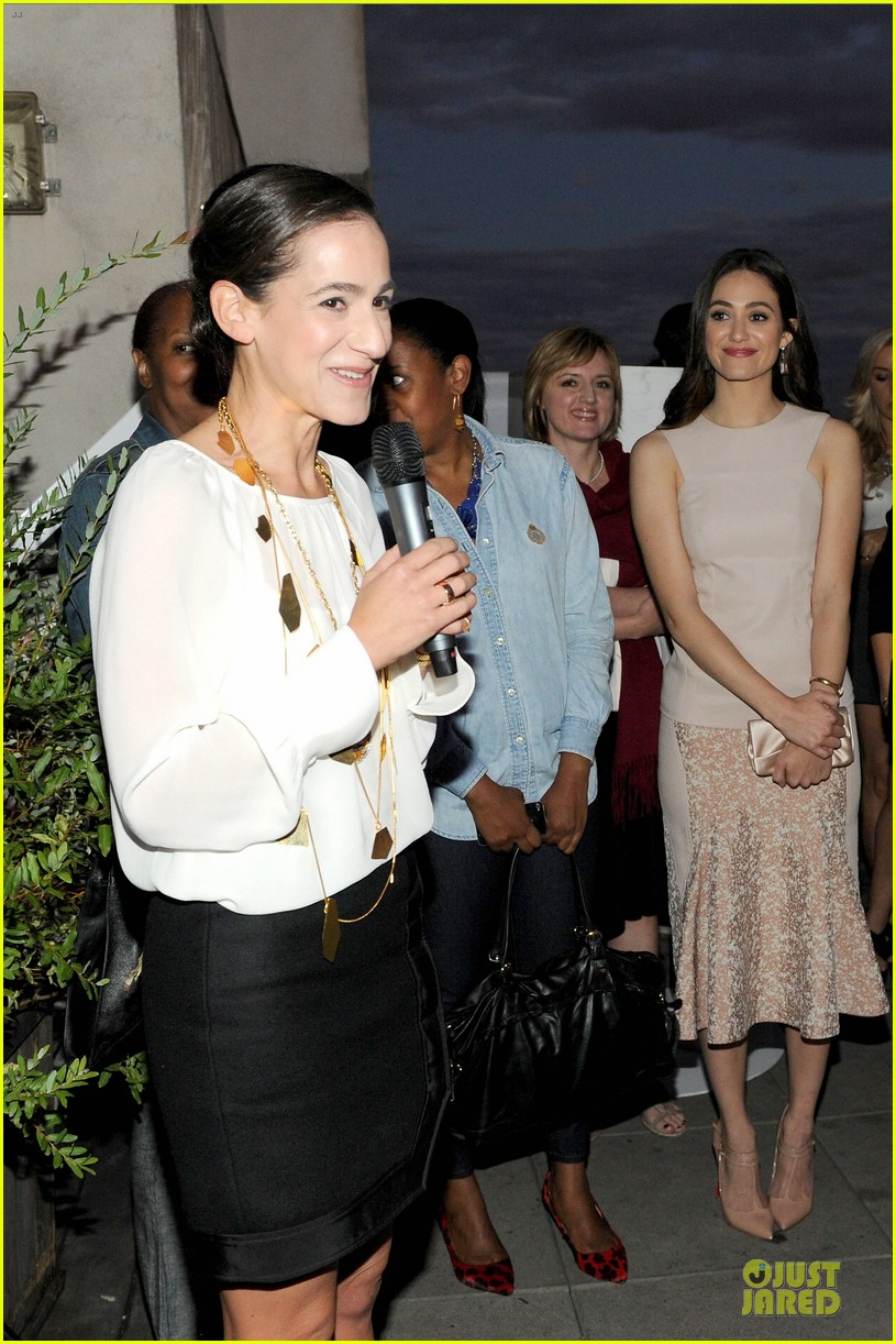 emmy rossum origins smartyplants event host 282953984