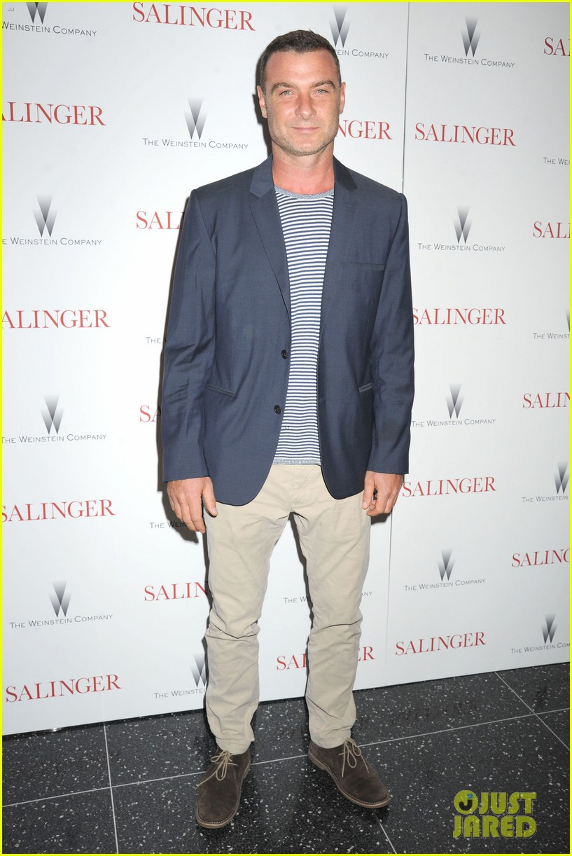 liev schreiber salinger new york screening 02