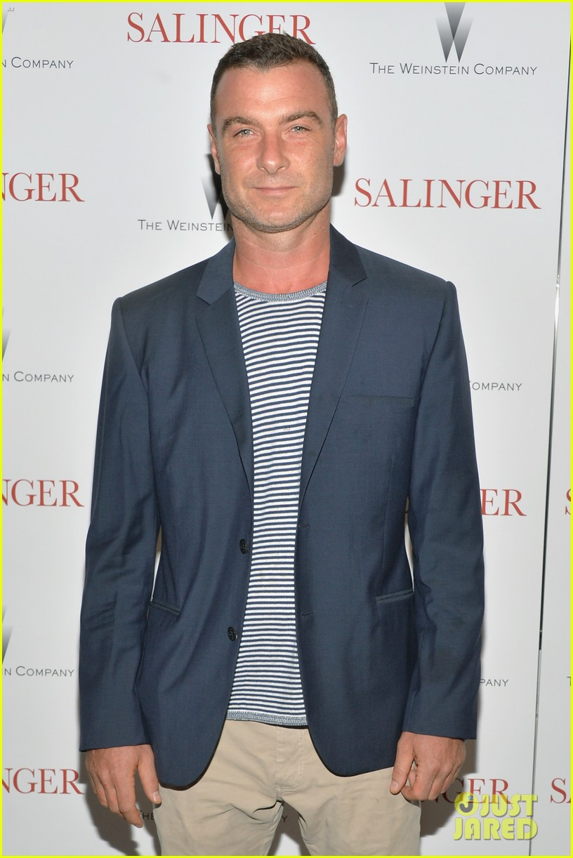 liev schreiber salinger new york screening 09