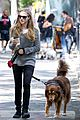 amanda seyfried kisses finn during friday walk 08