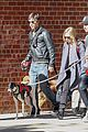 amanda seyfried justin long nyc dog walking twosome 03