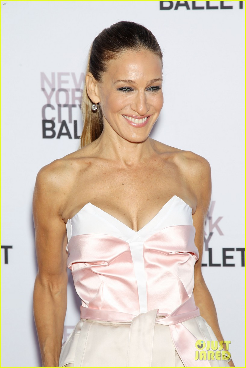 sarah jessica parker drew barrymore nyc ballet gala 12