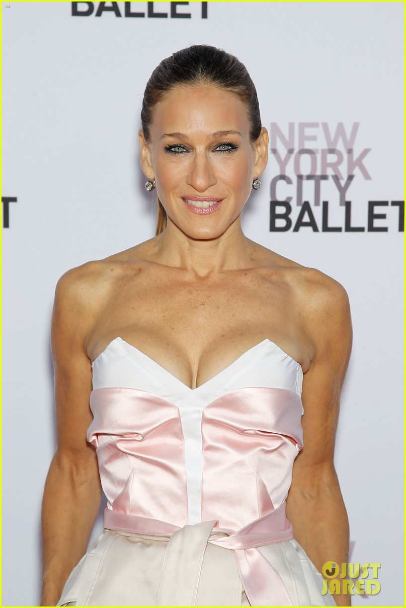 sarah jessica parker drew barrymore nyc ballet gala 13