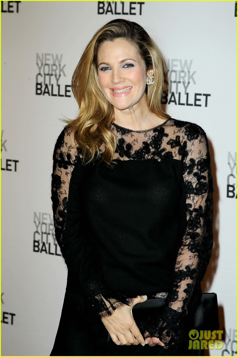 sarah jessica parker drew barrymore nyc ballet gala 29