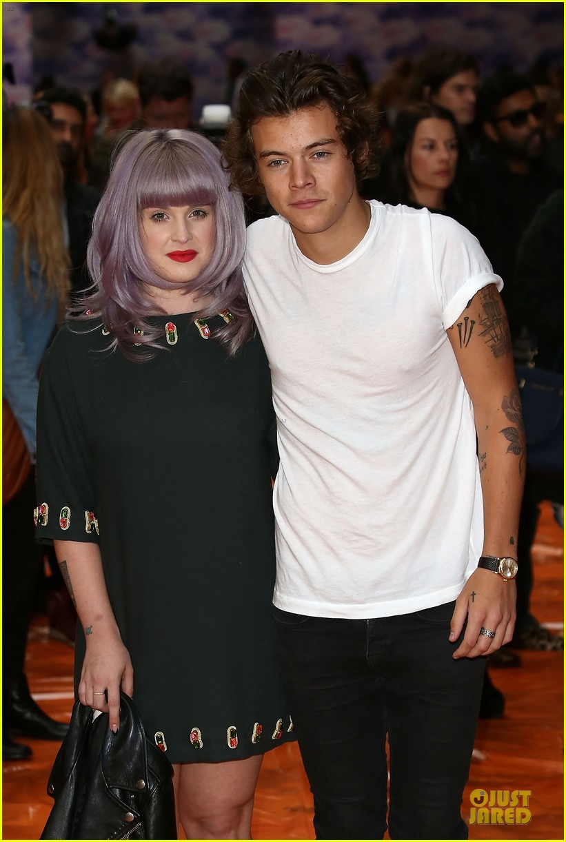 harry styles kelly osbourne house of holland fashion show 13