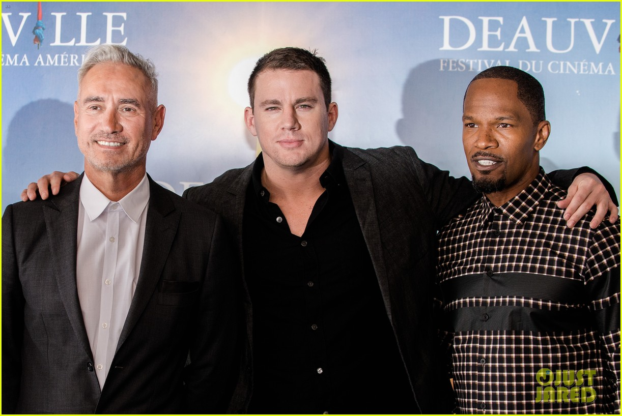 channing tatum jamie foxx white house down deauville photo call 12