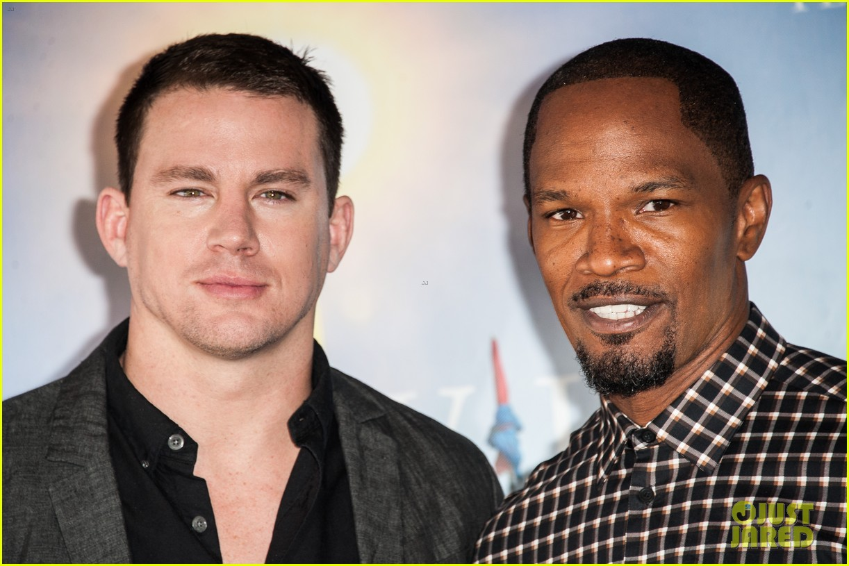 channing tatum jamie foxx white house down deauville photo call 21