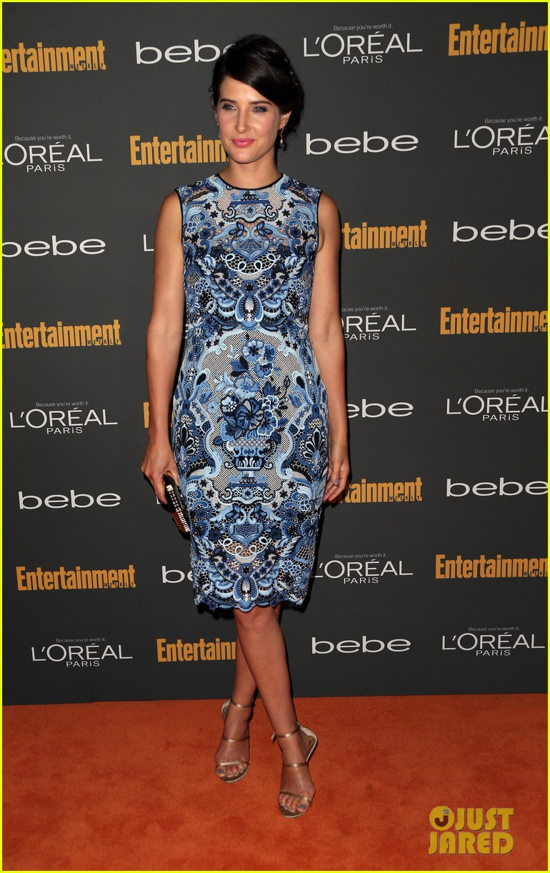 gabrielle union cobie smulders ew pre emmy party 2013 12