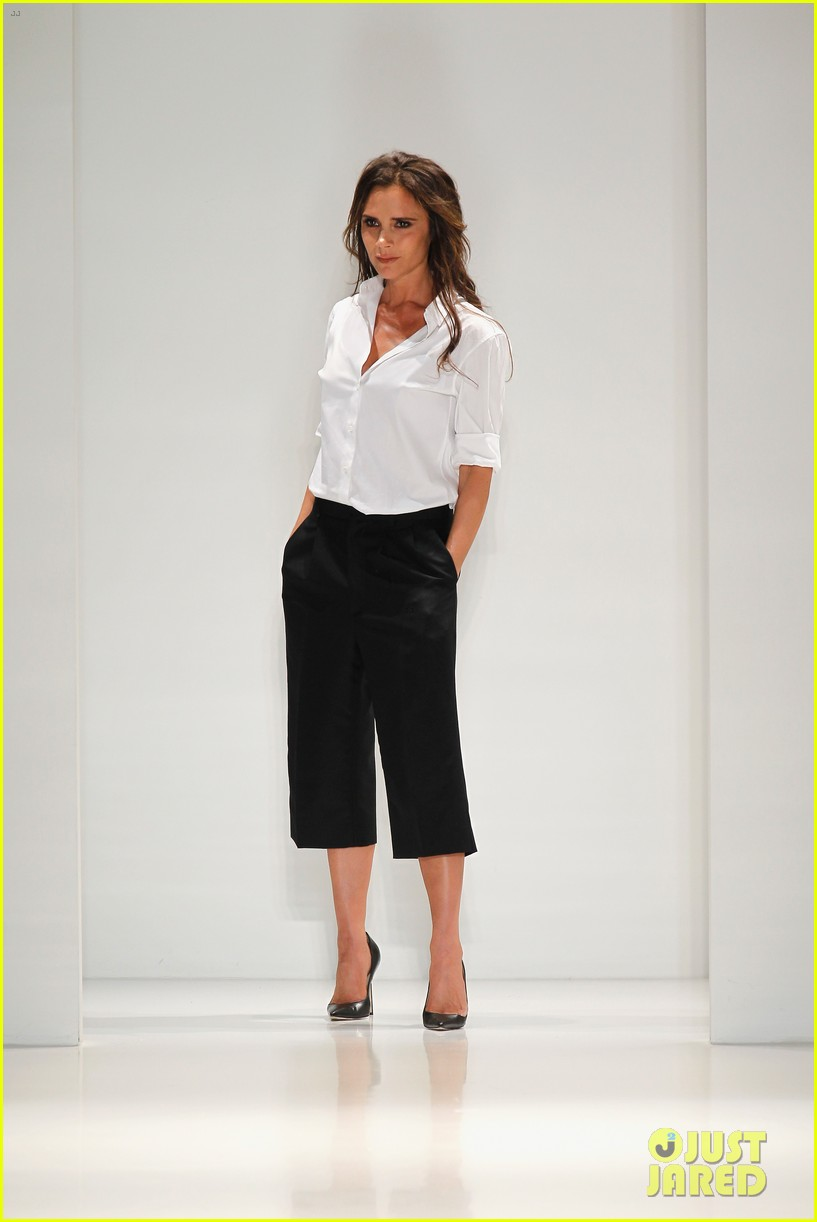 victoria beckham presents her spring collection at fashion week 072947015