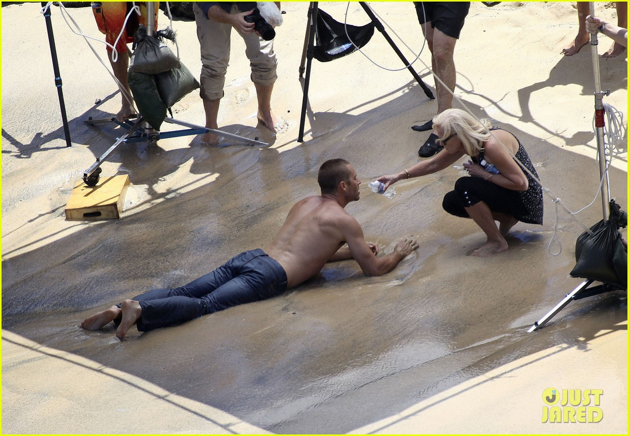 paul walker shirtless cool water cologne photo shoot 052945023