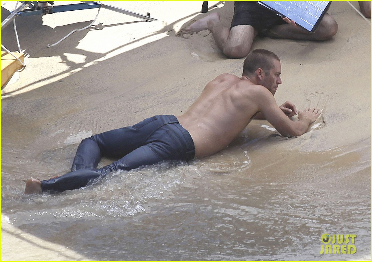 paul walker shirtless cool water cologne photo shoot 202945038