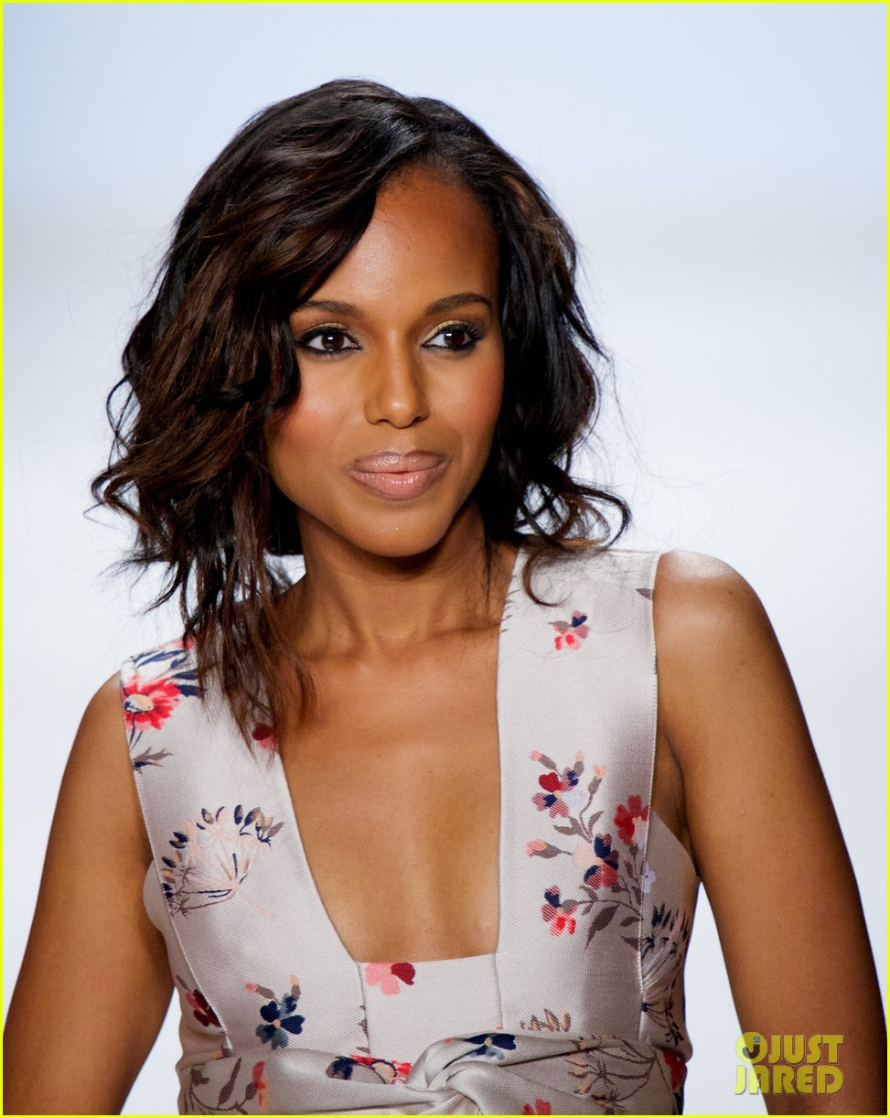 kerry washington heidi klum project runway fashion show 022945148