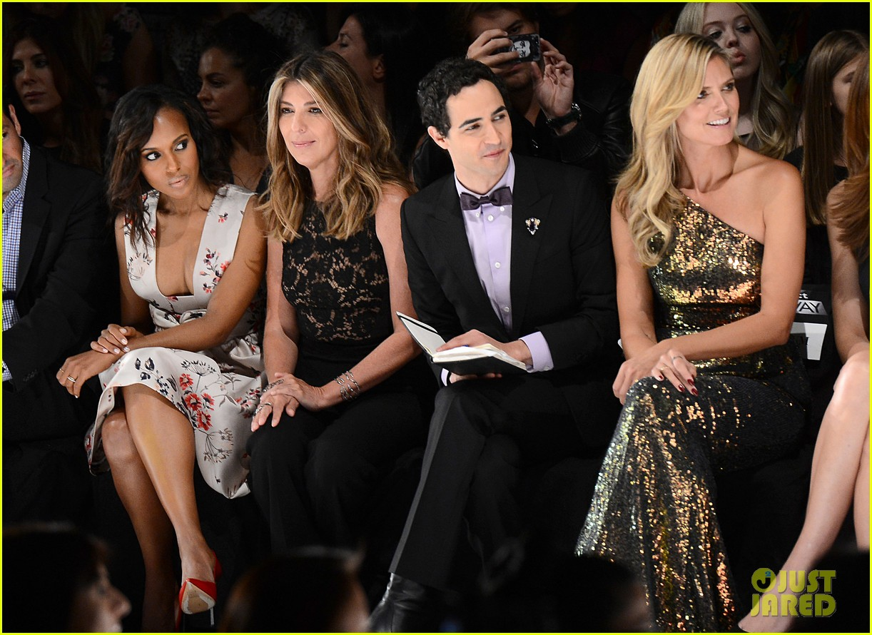 kerry washington heidi klum project runway fashion show 122945158