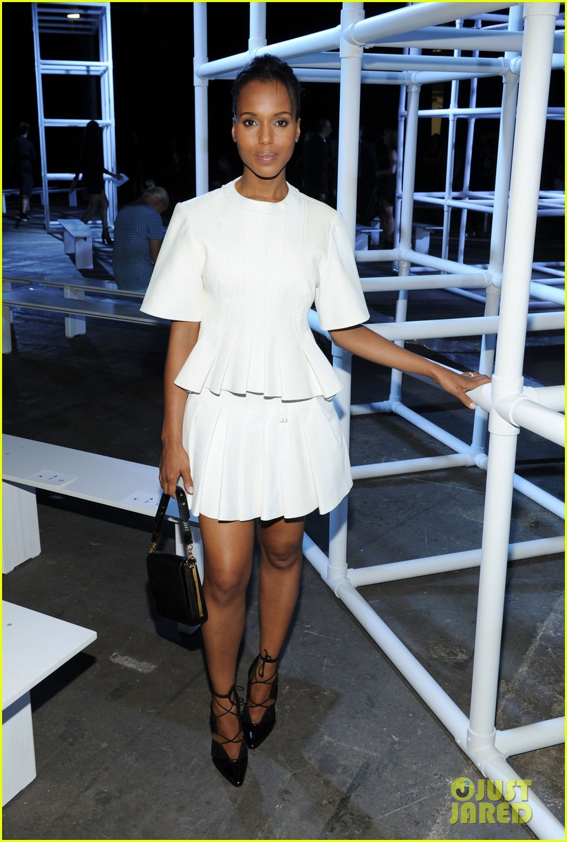 kerry washington kanye west alexander wang show 07