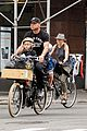 naomi watts family bike all week in new york city 07