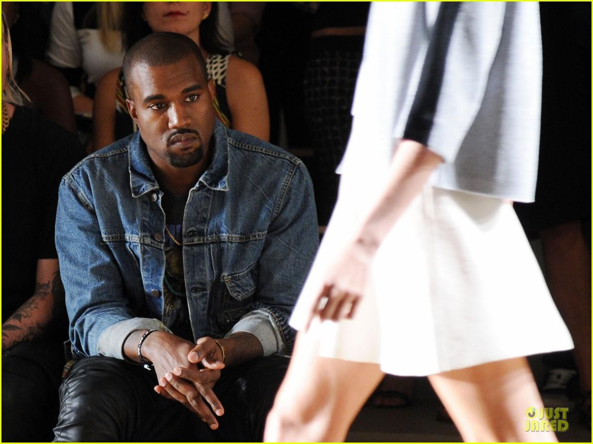 kanye west louise goldin fashion show 10