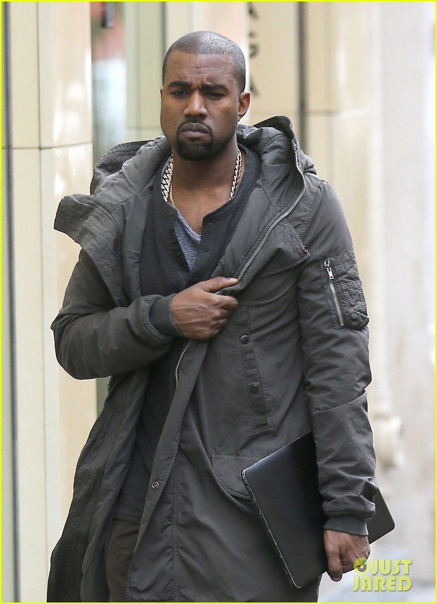 kanye west promotes yeezus in paris 062954630