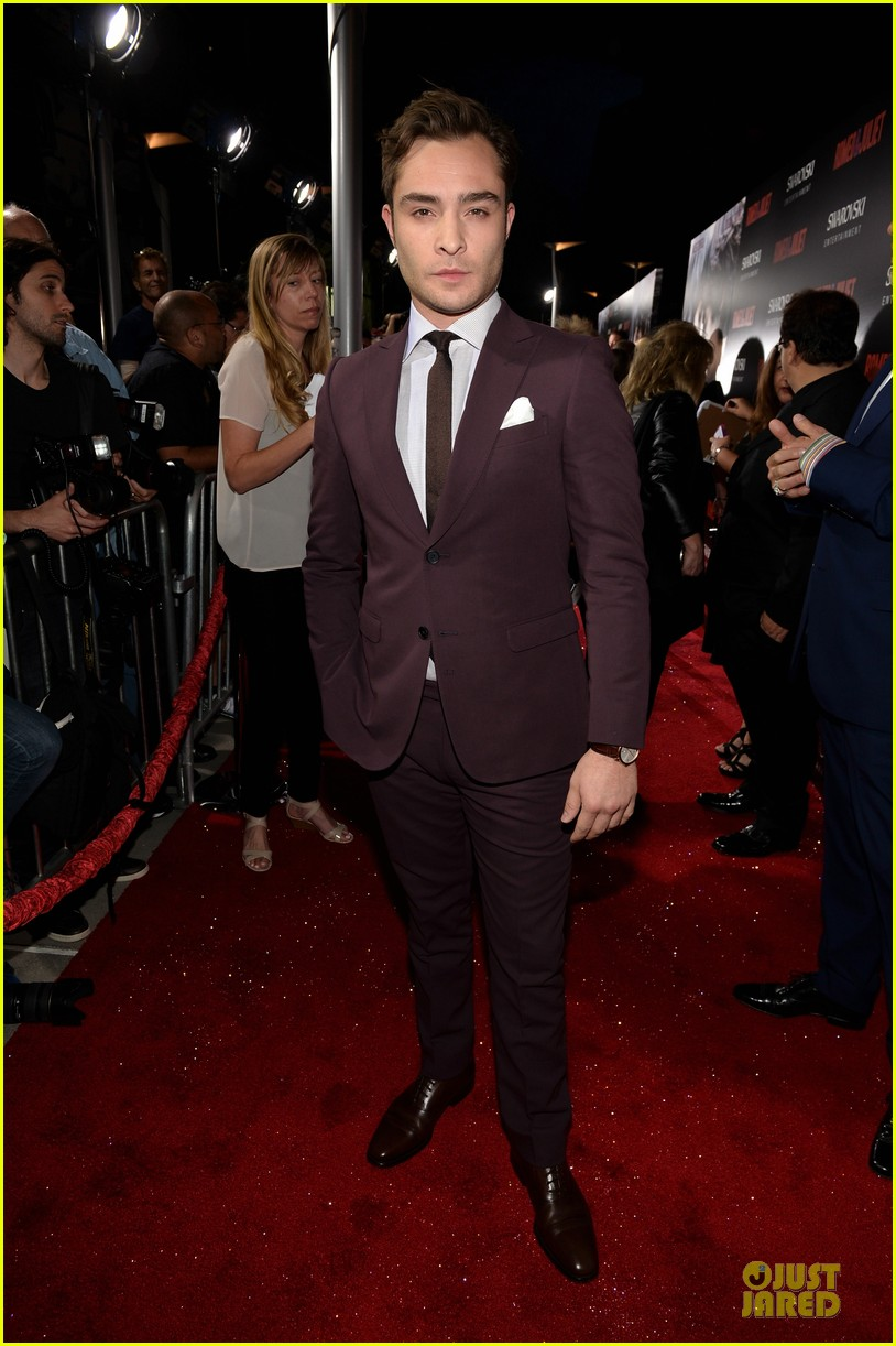 ed westwick romeo juliet hollywood premiere 01
