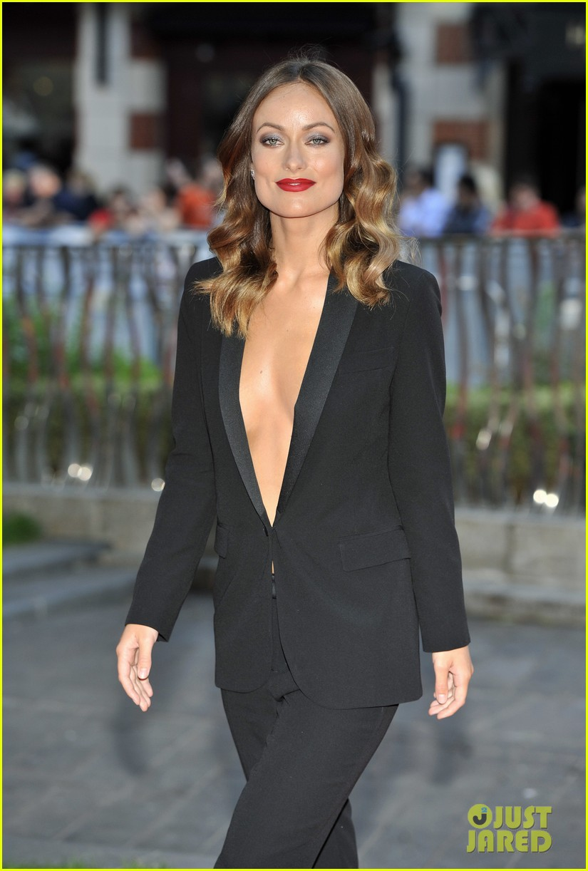 olivia wilde daniel bruhl rush london premiere 182942453