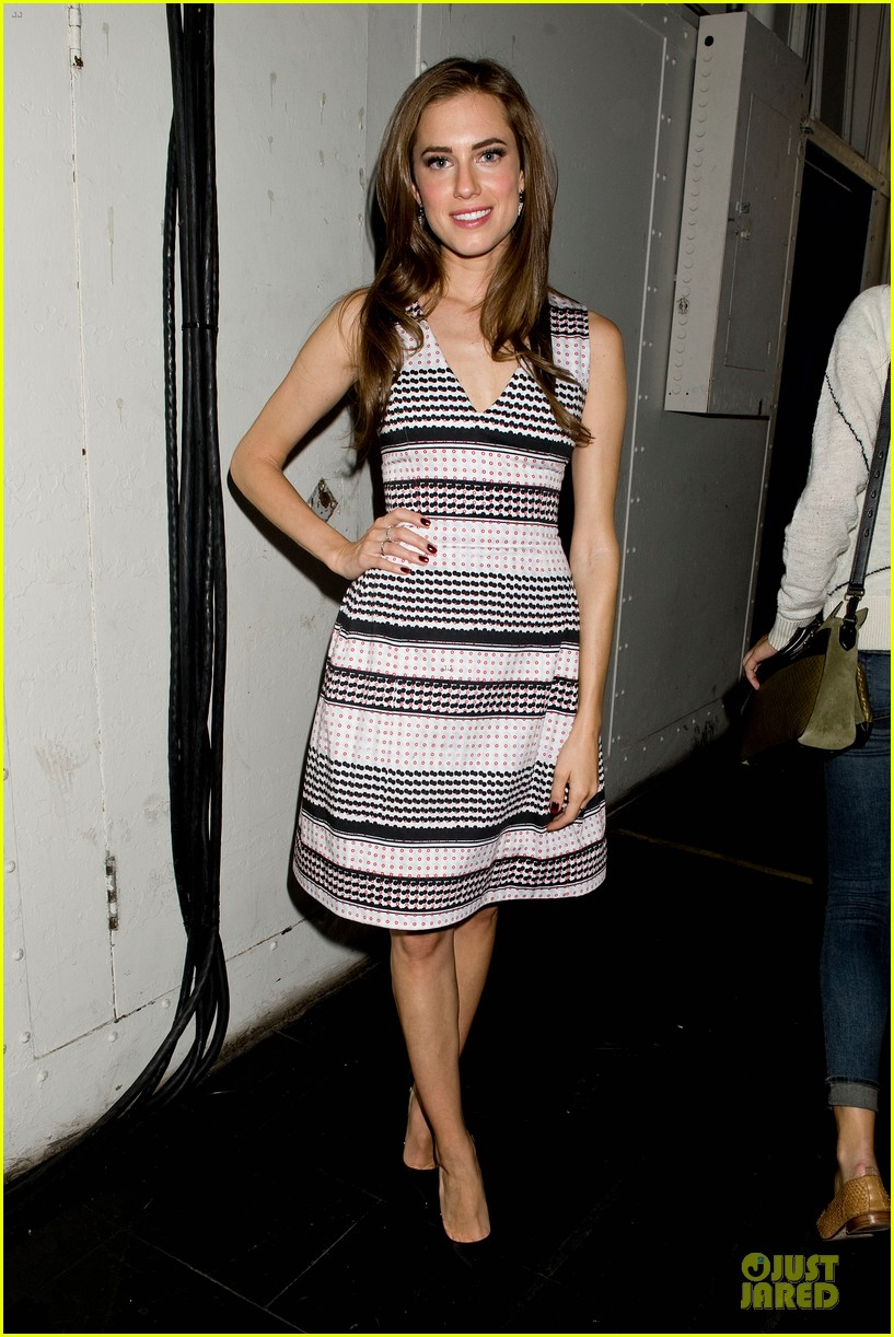 allison williams zachary quinto prabal gurung fashion show 092946076