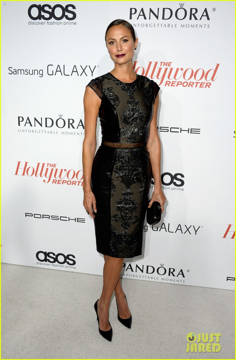 allison williams stacy keibler thrs emmy party 36