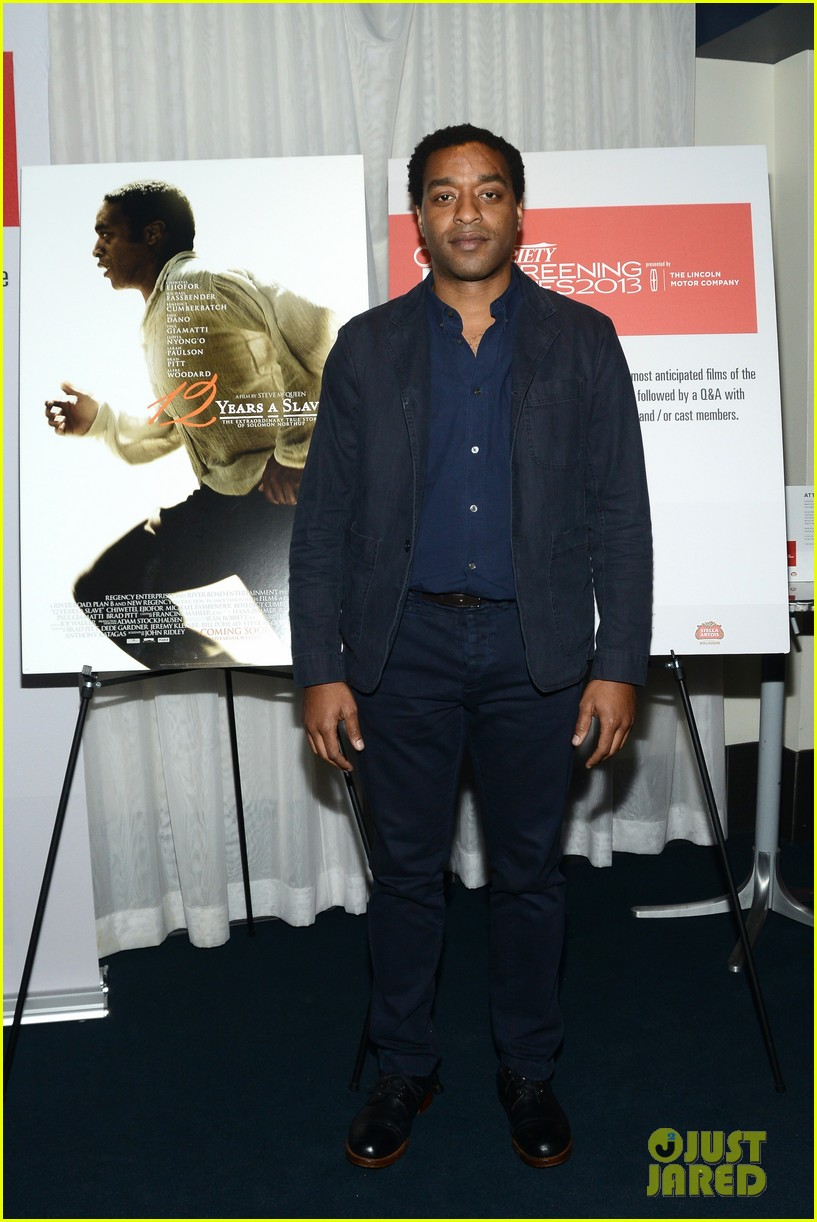 chiwetel ejiofor 12 years a slave bfi photo call 11