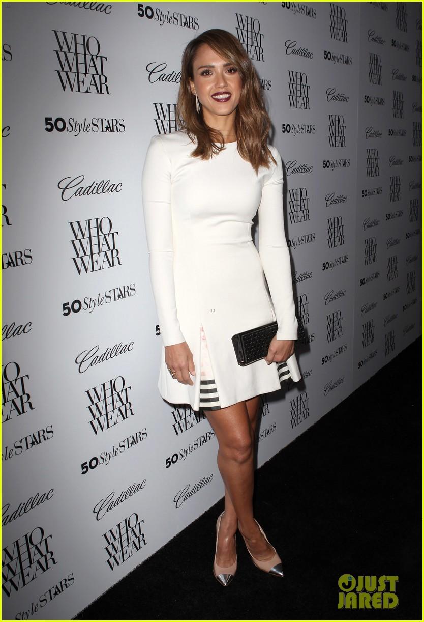 jessica alba nicole richie cadillacs 50 most fashionable women of 2013 33