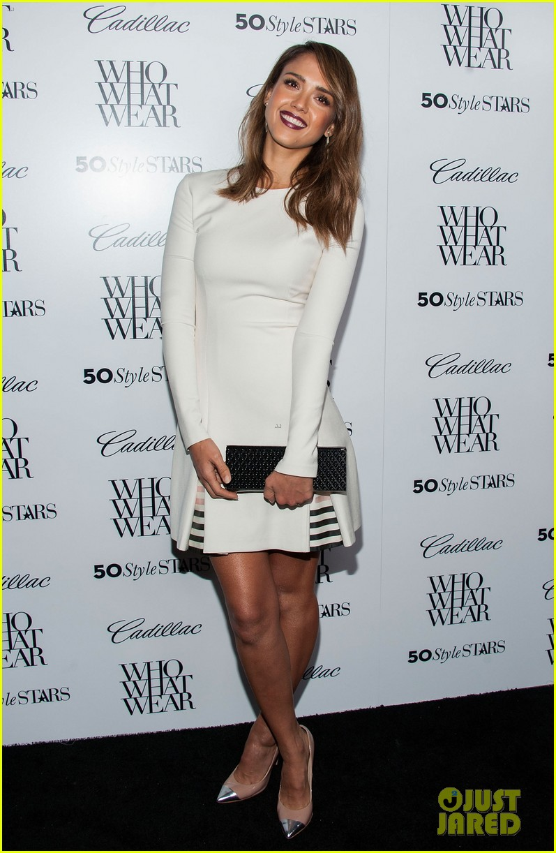 jessica alba nicole richie cadillacs 50 most fashionable women of 2013 36
