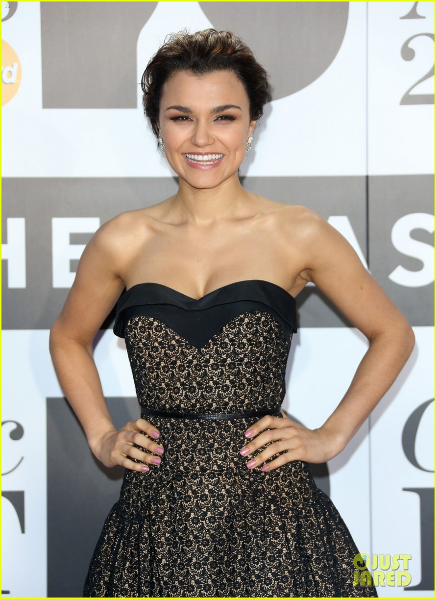 samantha barks celebrates birthday at classic brit awards 042964761