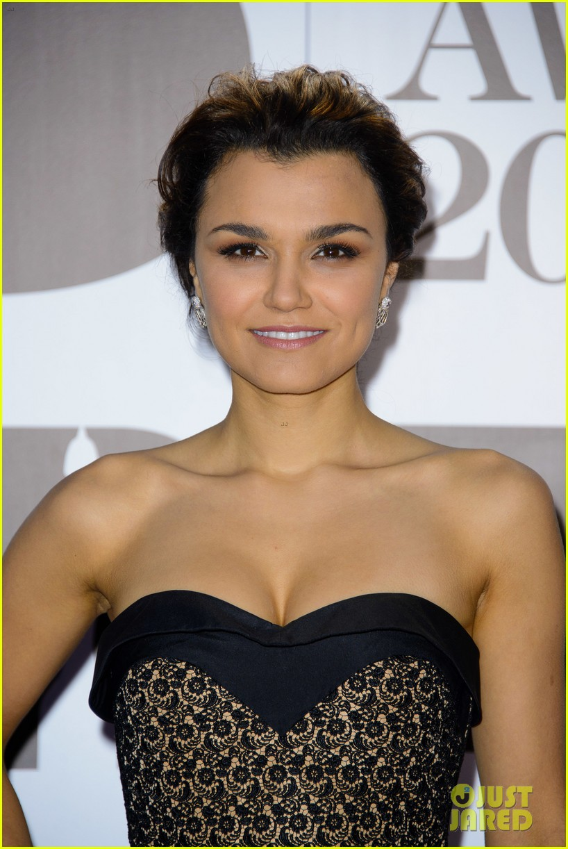 samantha barks celebrates birthday at classic brit awards 142964771