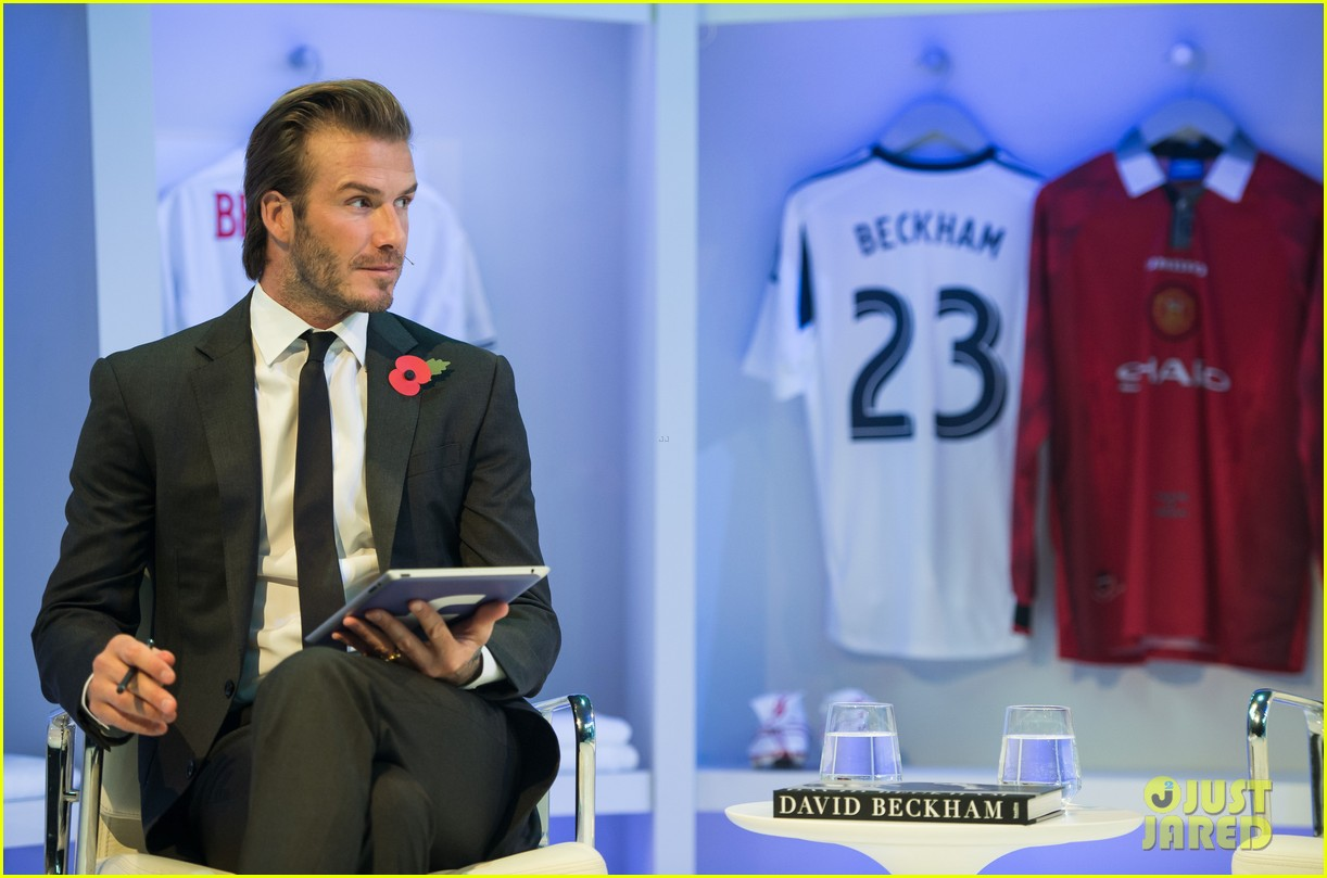 david beckham facebook global book signing 13