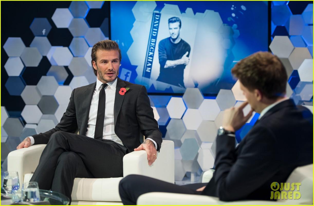 david beckham facebook global book signing 15