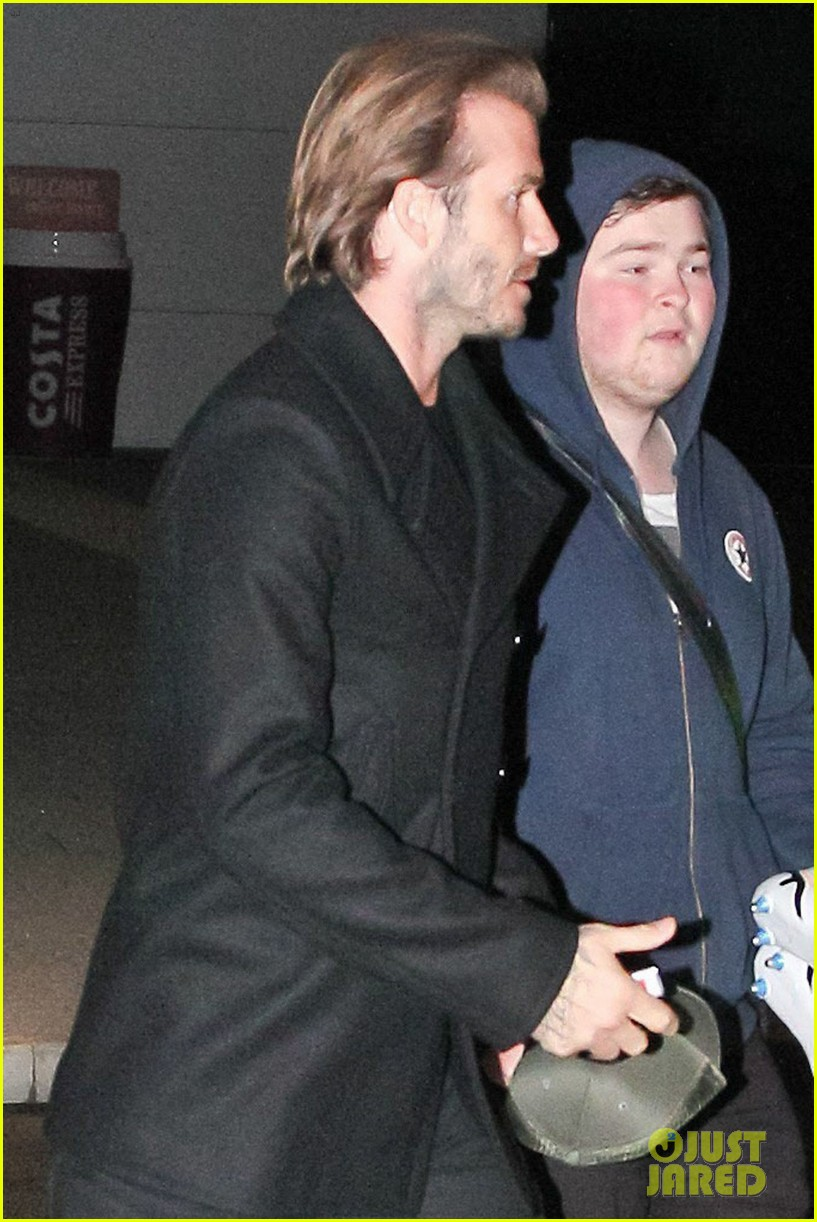 david beckham steps out in manchester after fender bender 012982249